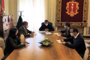 El Ayuntamiento y la UCLM comienzan a planificar la llegada del Centro Nacional de Estudios Penitenciarios a Cuenca