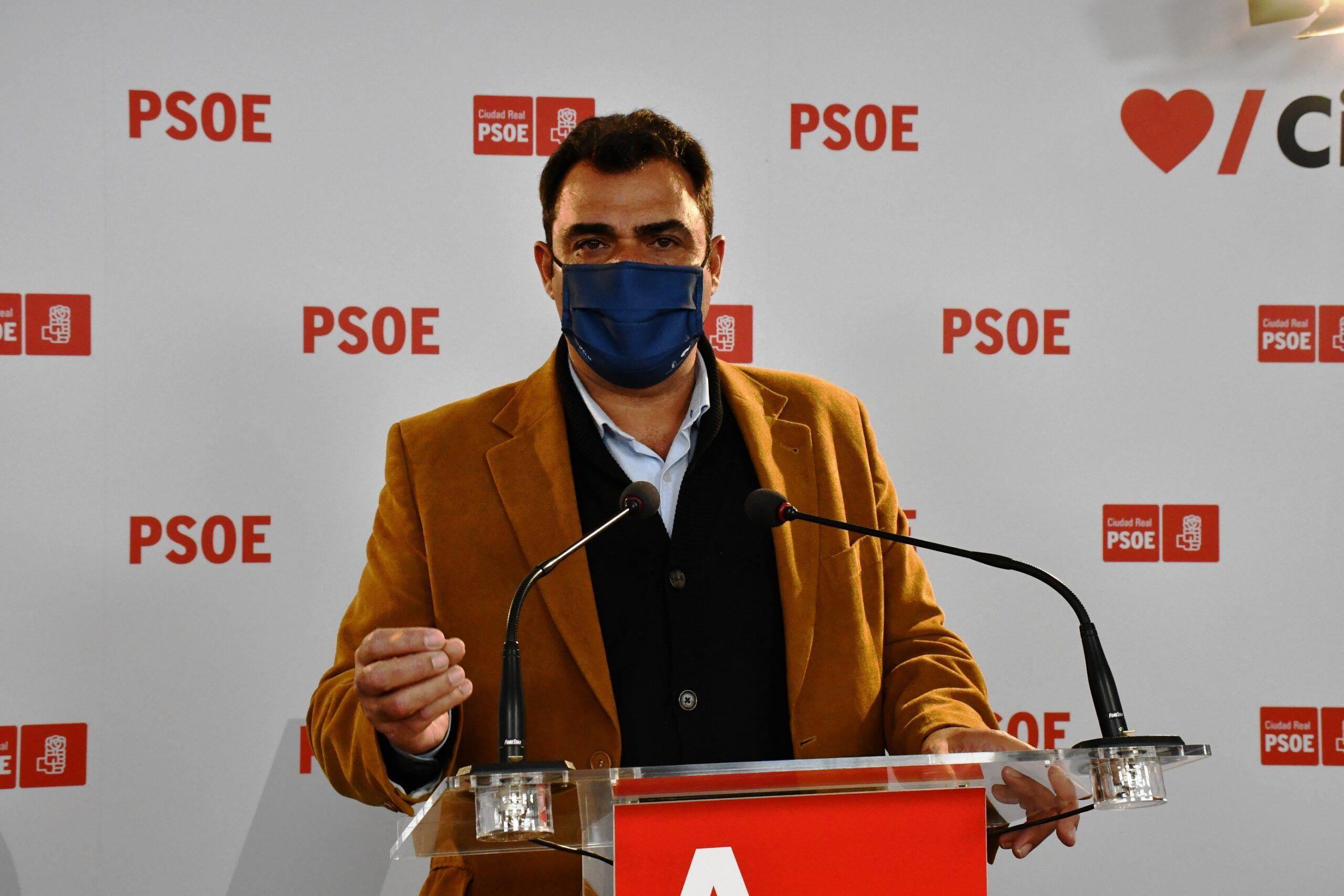 El PSOE valora el descenso del paro en Ciudad Real, con 726 personas menos en desempleo en el mes de abril