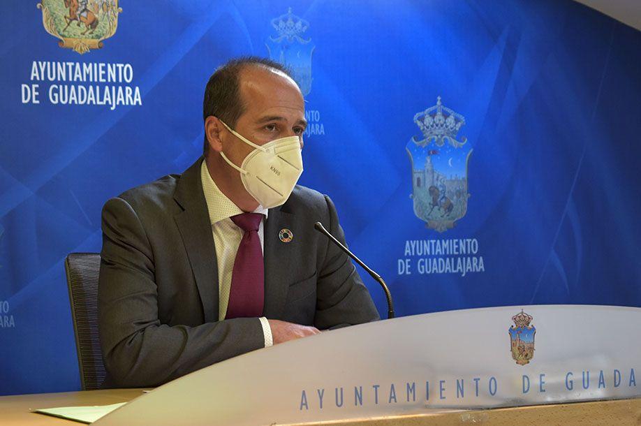 """Rojo: """"Guadalajara estará preparada ante la llegada de fondos europeos y de importantes proyectos de reactivación de la ciudad"""""""