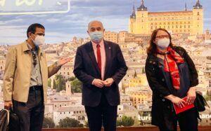 Toledo despliega su potencial turístico en Fitur en una jornada marcada por reuniones con touroperadores del sudeste asiático