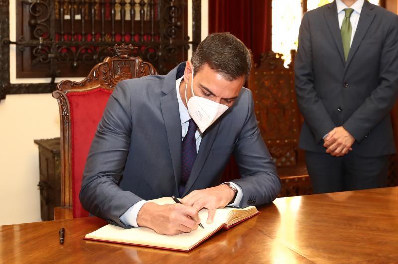 """Sánchez llama a su partido a asumir el """"coste"""" político de los indultos porque lo que se busca es """"resolver problemas"""""""