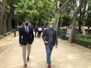 """Serrano: """"Page sigue empeñado en mirar a Ferraz y a Moncloa cuando nuestra región destaca por una gestión desastrosa del virus"""""""