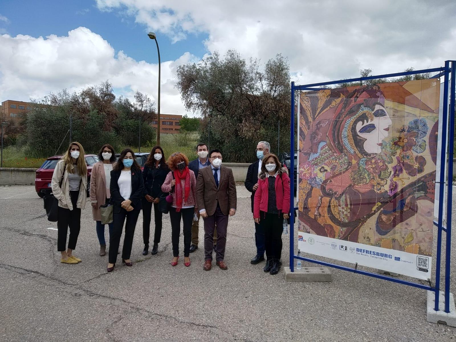 El Ayuntamiento participa en el acto del Día de Europa organizado en Toledo por los institutos Universidad Laboral y María Pacheco