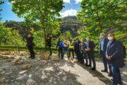 Tierraseca alaba la rapidez en la actuación de la zona del derrumbe en Cuenca
