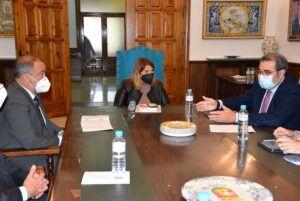"""La alcaldesa de Talavera apuesta por """"vincular el crecimiento de la ciudad a la Universidad de Castilla-La Mancha (UCLM)"""""""