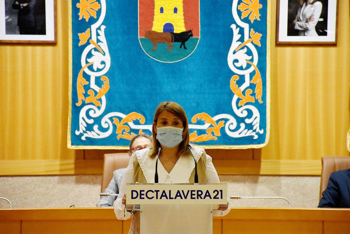 """Tita García Élez ante la movilización del Levante: """"Talavera no se rinde. No al trasvase"""""""