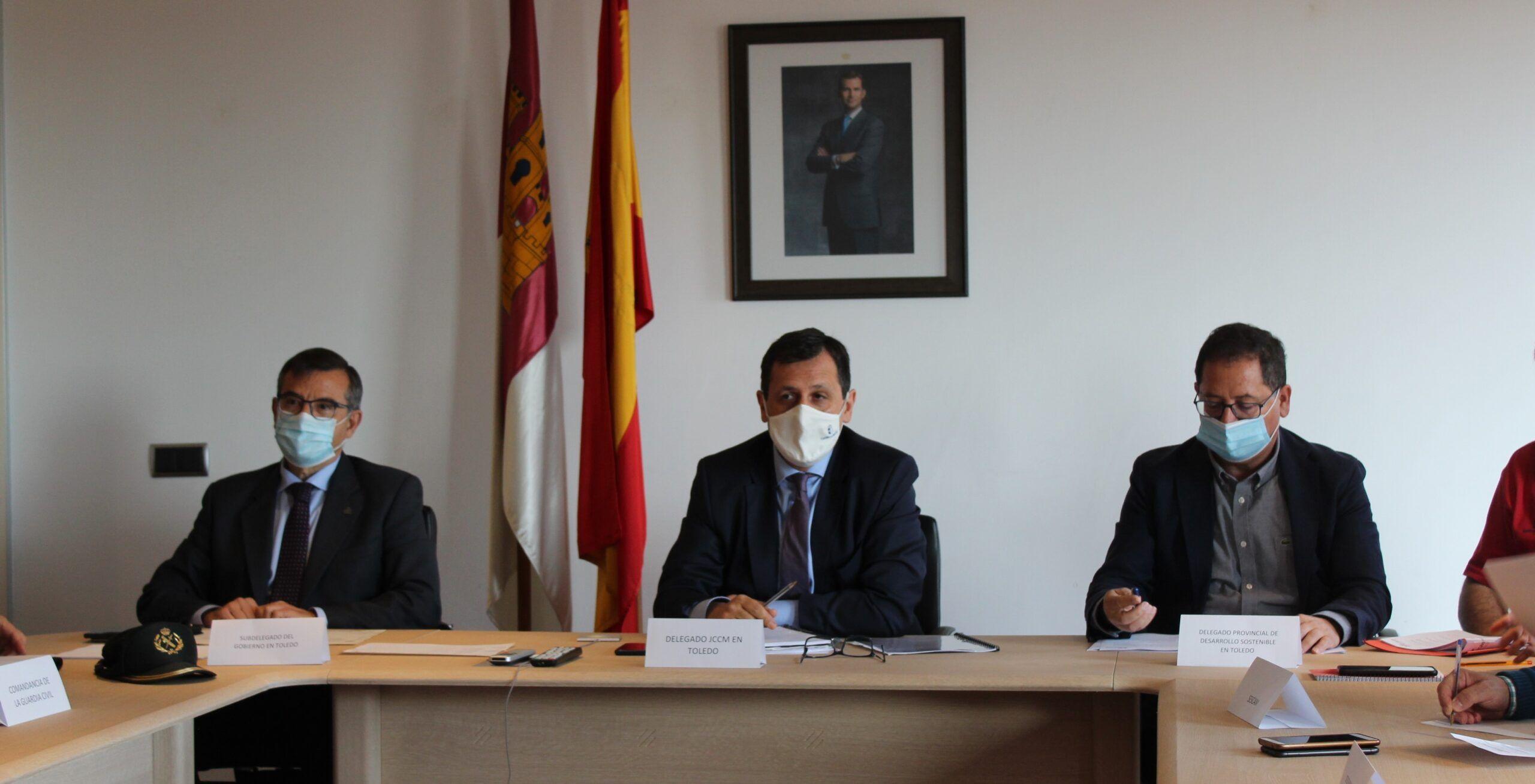 El Gobierno regional destina 16,7 millones de euros a la campaña de prevención y extinción de incendios forestales 2021 en la provincia de Toledo