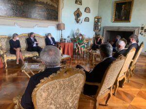 La alcaldesa traslada a empresarios italianos y españoles en Roma las oportunidades de Toledo como ciudad estratégica