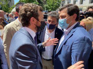 Alcaldes y concejales del PP-CR defienden en Madrid los intereses de sus vecinos
