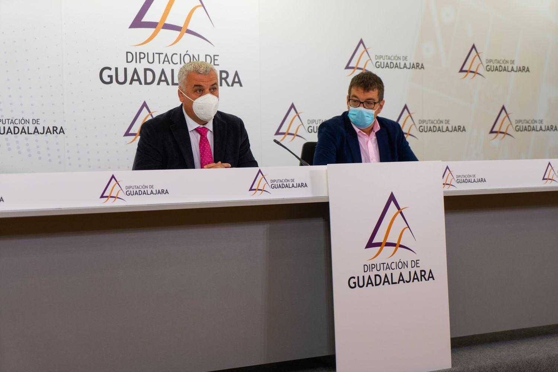La Diputación impulsa inversiones municipales en pequeños pueblos de Guadalajara con 6.648.000 €