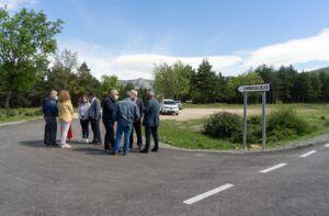La Diputación invierte 360.000 € en dos tramos de las carreteras de Majaelrayo y Valverde de los Arroyos