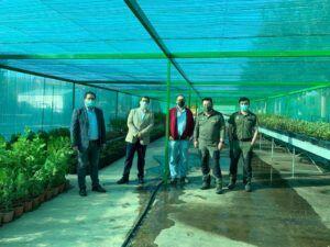 El Gobierno regional destaca el trabajo realizado en el Vivero Central de Toledo, que se vio afectado por la borrasca Filomena, para dotar de plantas a los ayuntamientos de la provincia