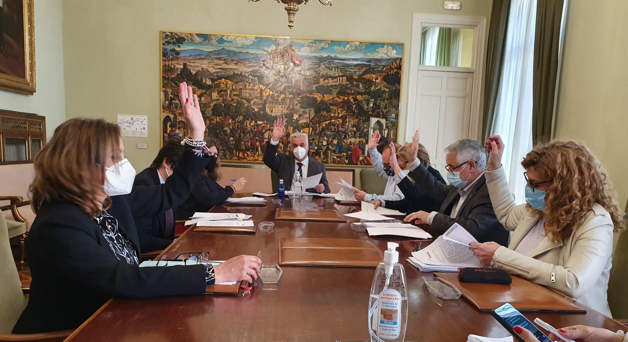 La Diputación aprueba mejoras de seguridad en 11 carreteras con una inversión de 900.000 €