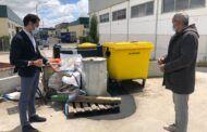 Ciudadanos denuncia el lamentable estado del punto limpio de Yeles