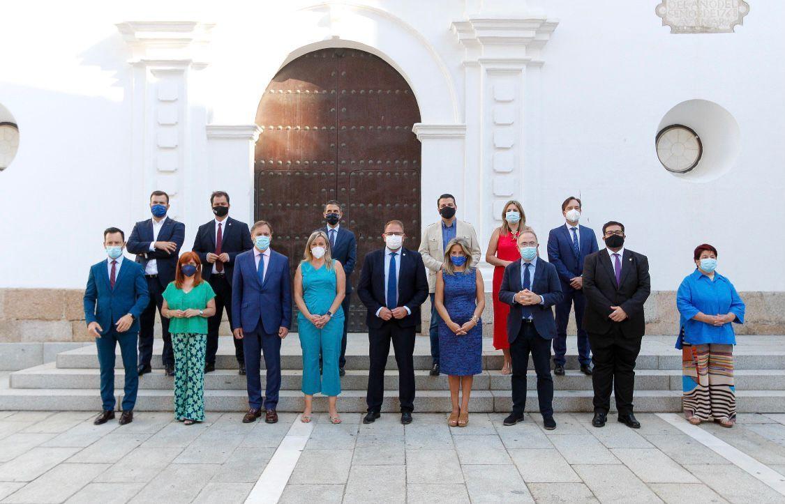 La alcaldesa de Toledo traslada a Ciudades Patrimonio el trabajo de la FEMP para que haya una asignación directa de los fondos europeos