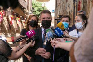 """Emiliano García-Page recuerda, en el día del Corpus Christi, a todas aquellas personas que, con su trabajo, """"han luchado contra el virus"""""""