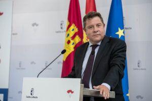 Emiliano García-Page exige el trazado de la A-43 por Almadén y reivindica este trayecto como la mejor conexión de España con Portugal
