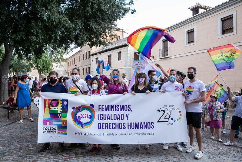 El Gobierno regional presentará antes de que finalice el año la Ley de Diversidad Sexual y Derechos LGTBI en las Cortes de Castilla-La Mancha