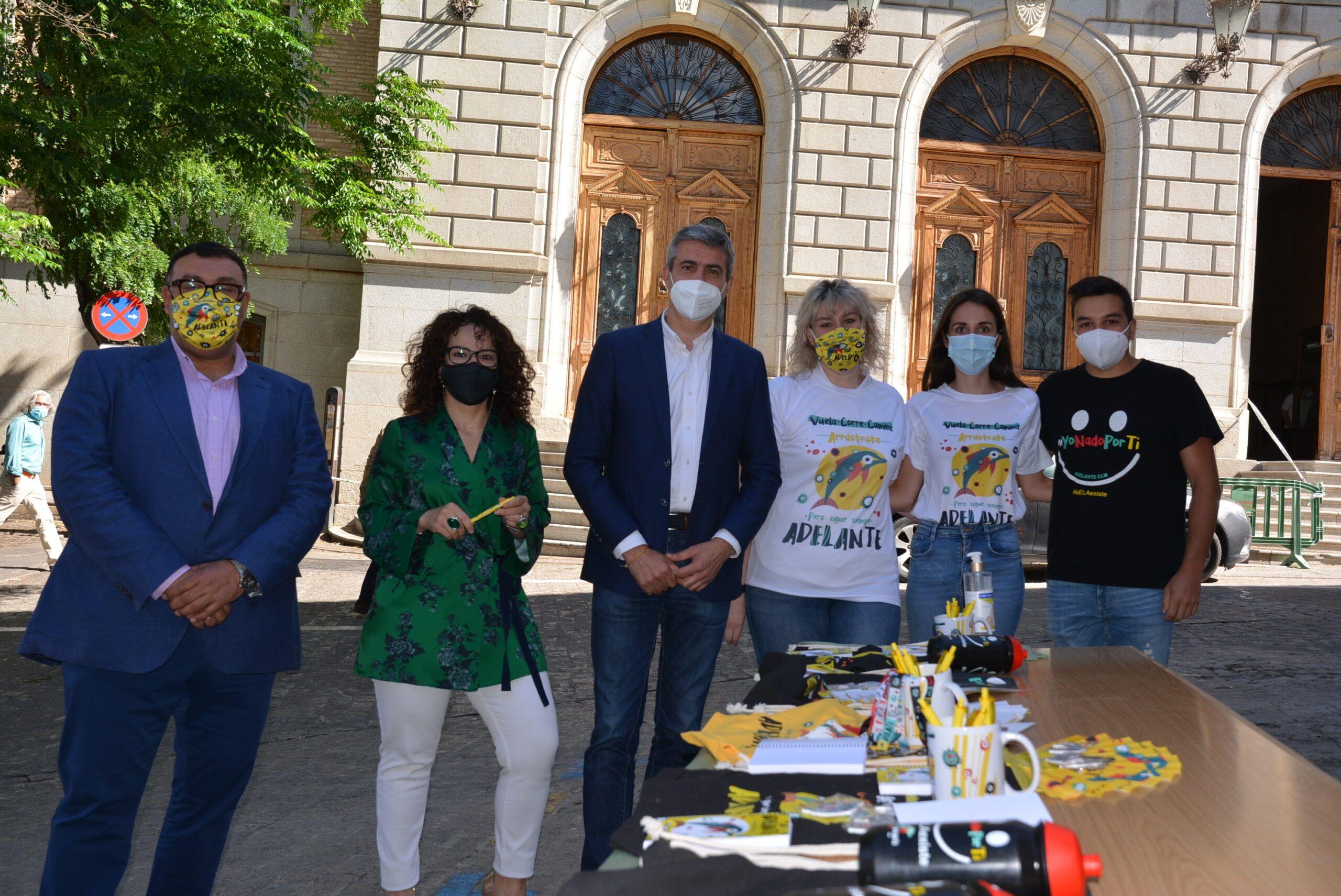 Álvaro Gutiérrez apoya la labor de concienciación sobre la ELA en el Día Mundial de la enfermedad