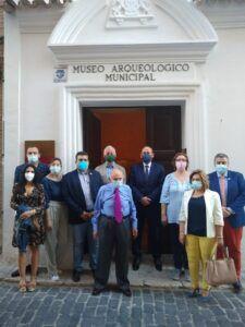 Ángel de Vega destaca el esfuerzo del Gobierno Municipal de Ocaña para reabrir el Museo Arqueológico Municipal