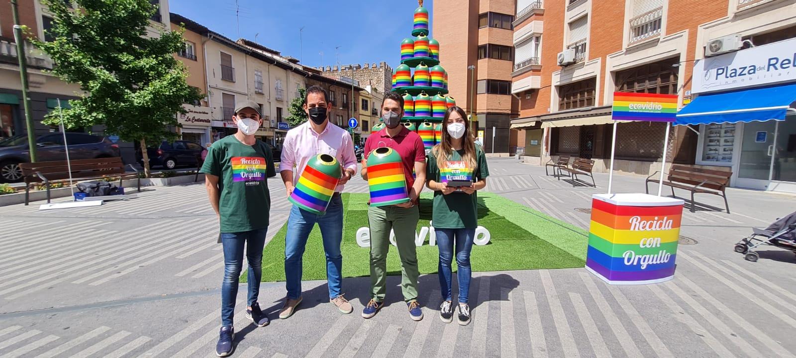 El Ayuntamiento se suma a la campaña #OrgulloDeReciclarVidrio de Ecovidrio que aúna valores sostenibles como el reciclaje y sociales como la igualdad