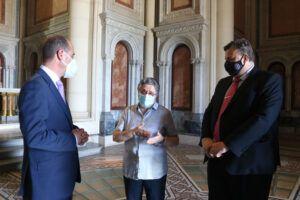 El Ayuntamiento de Guadalajara renueva con la Fundación San Diego Alcalá su colaboración para la apertura al público del Panteón de la Duquesa de Sevillano