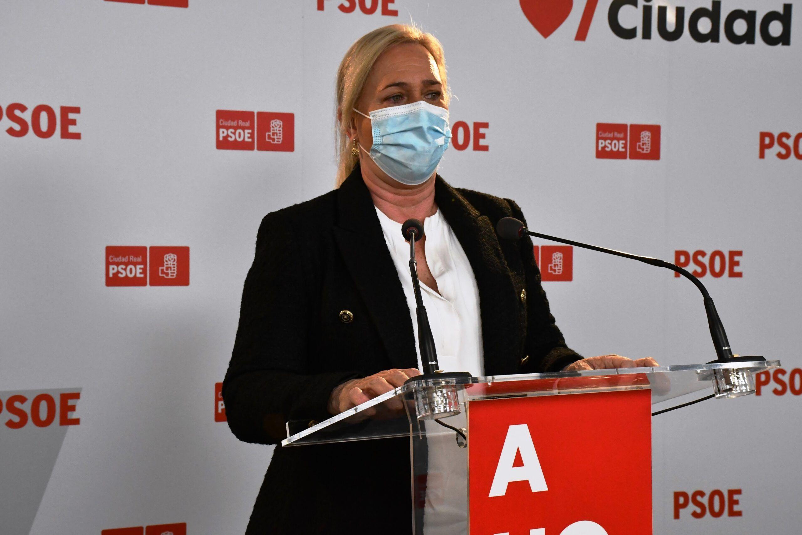 """Carmen Mínguez: """"Con su ruido, el PP no puede tapar ni el caso Kitchen, ni el trabajo de los Gobiernos socialistas para que la Plataforma de Alcázar salga adelante"""""""