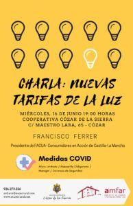 """AMFAR imparte una charla informativa sobre las """"Nuevas Tarifas de la Luz"""""""
