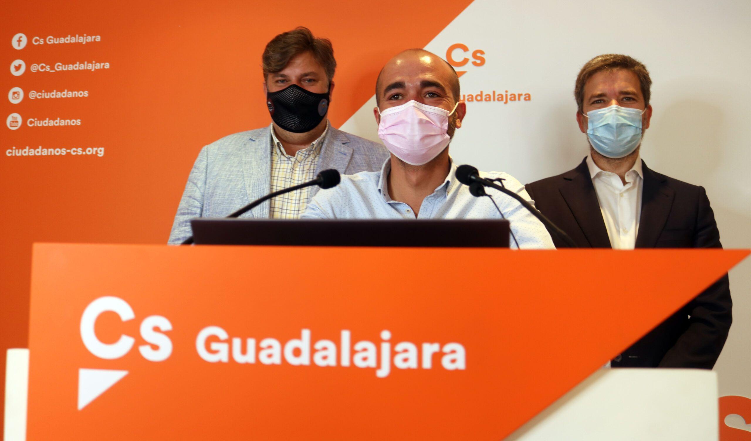 Cs Guadalajara forzará al PSOE a que rechace los indultos en el próximo pleno