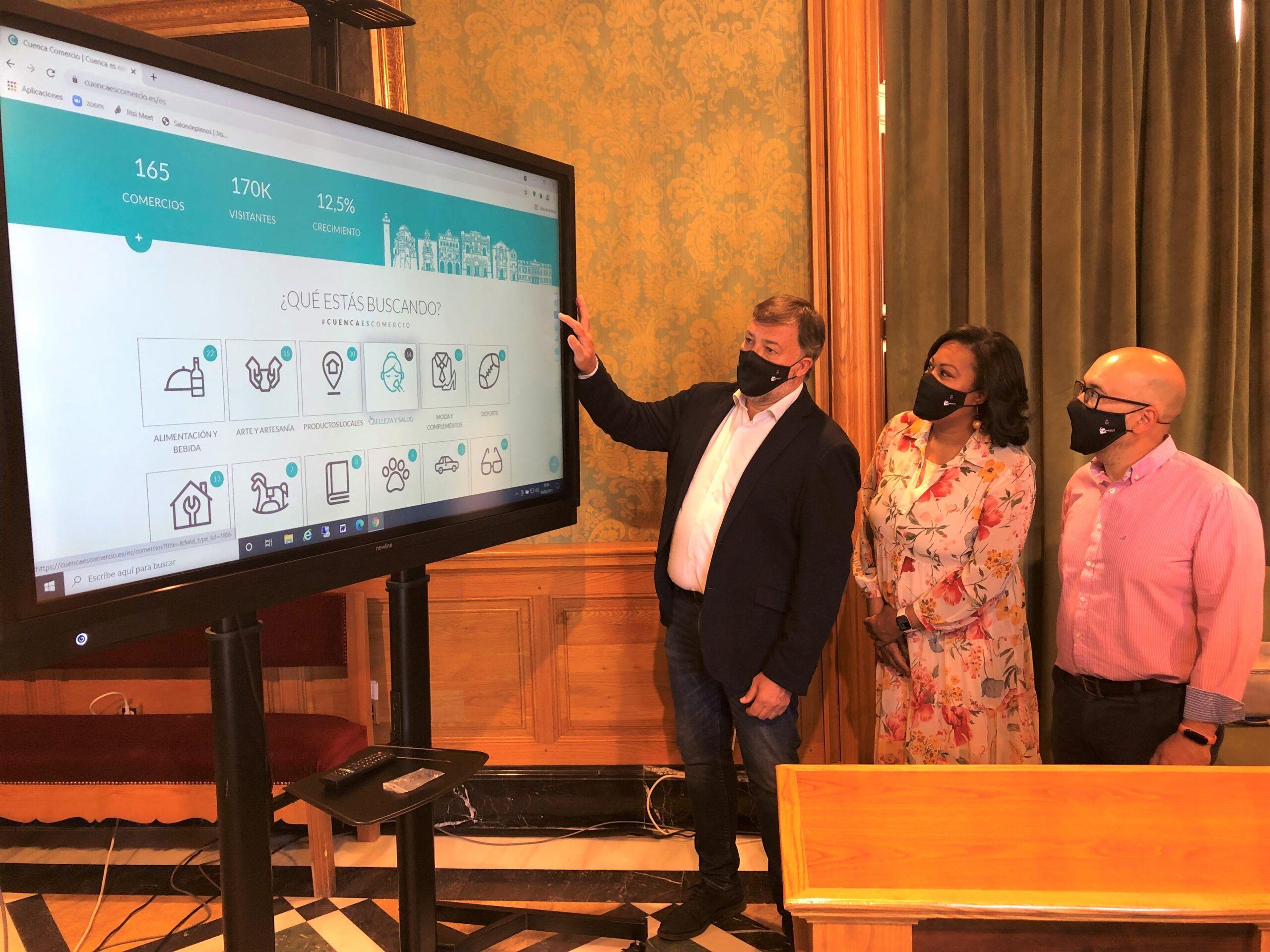 En marcha el portal web 'Cuenca es comercio' para revitalizar el sector y potenciar el comercio local