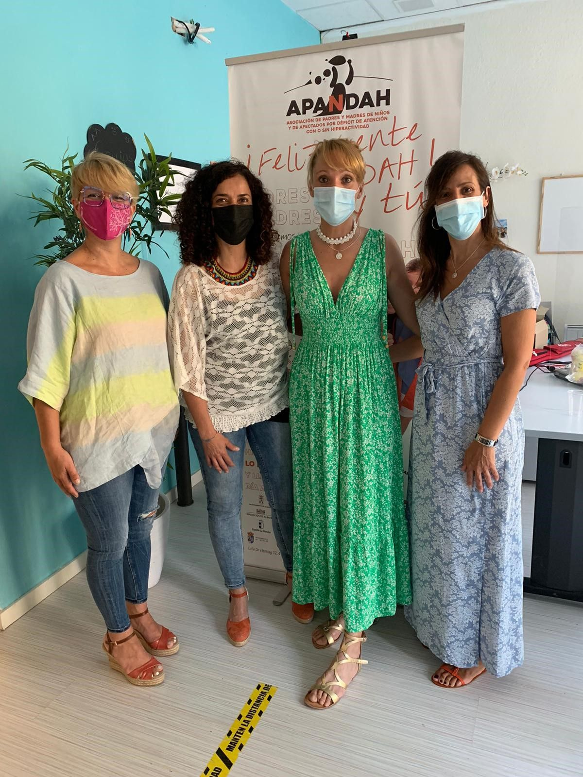 María Gil y Joaqui Alarcón apoyan a APANDAH y reclaman más apoyo para los niños con Déficit de Atención y mayor sensibilización sobre el colectivo