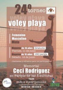 Cerca de 90 deportistas se disputan en Toledo los días 11 y 12 de junio el 24º Torneo de Vóley Playa con apoyo municipal