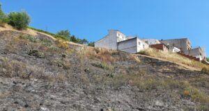 El Gobierno regional ejecuta unas quemas prescritas para la prevención de incendios forestales en las inmediaciones de Escalona