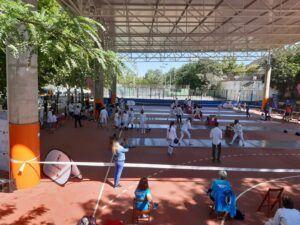 Encuentro internacional de esgrima femenino en Toledo