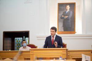 """Ciudadanos denuncia que Tolón """"censura"""" el Pleno porque no quiere posicionarse sobre el tema de los indultos"""
