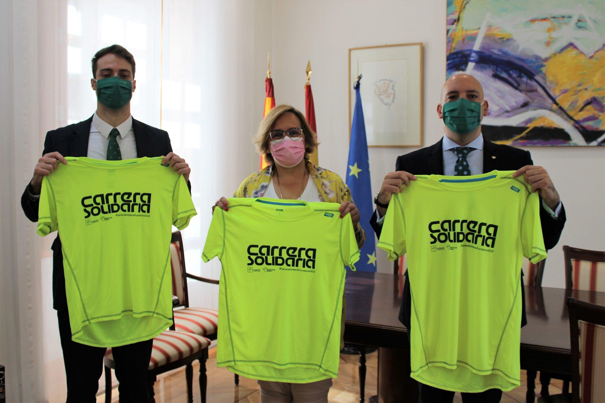 La delegada de la Junta de Comunidades anima a los ciudadrealeños a sumarse a la carrera solidaria organizada por la Fundación Eurocaja Rural