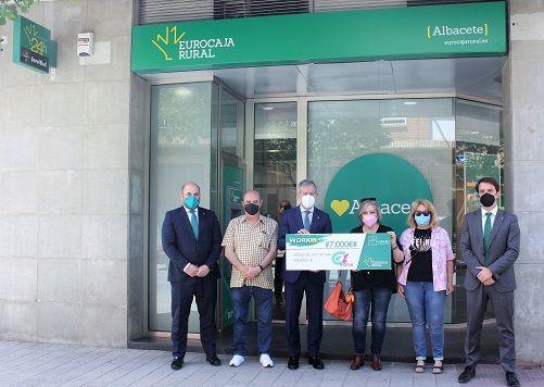 Fundación Eurocaja Rural reconoce la labor de ASPAS Albacete con la entrega de un premio WORKIN