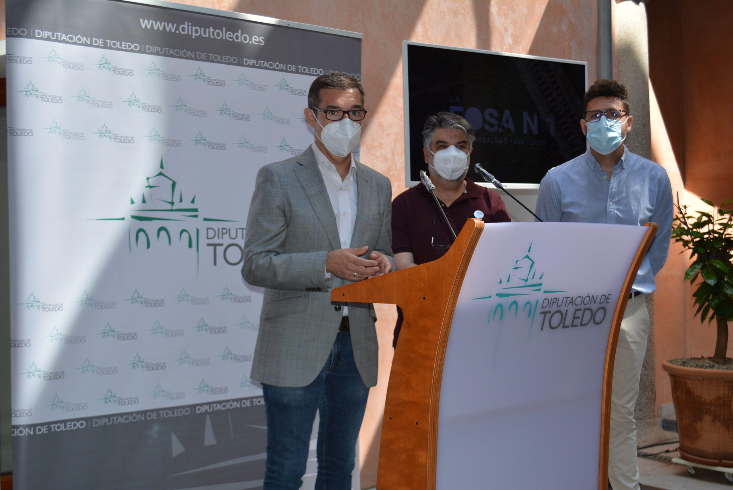 La Diputación deToledo financia el documental sobre los trabajos de exhumación de la Fosa Nº 1 de Menasalbas