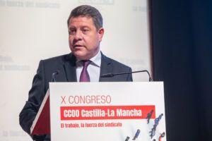 El presidente de Castilla-La Mancha anuncia avances importantes en materia hídrica para la próxima semana