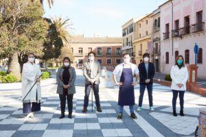 La alcaldesa destaca el trabajo del Gobierno local, Carlos Maldonado y MasterChef para proyectar al exterior la imagen de Talavera