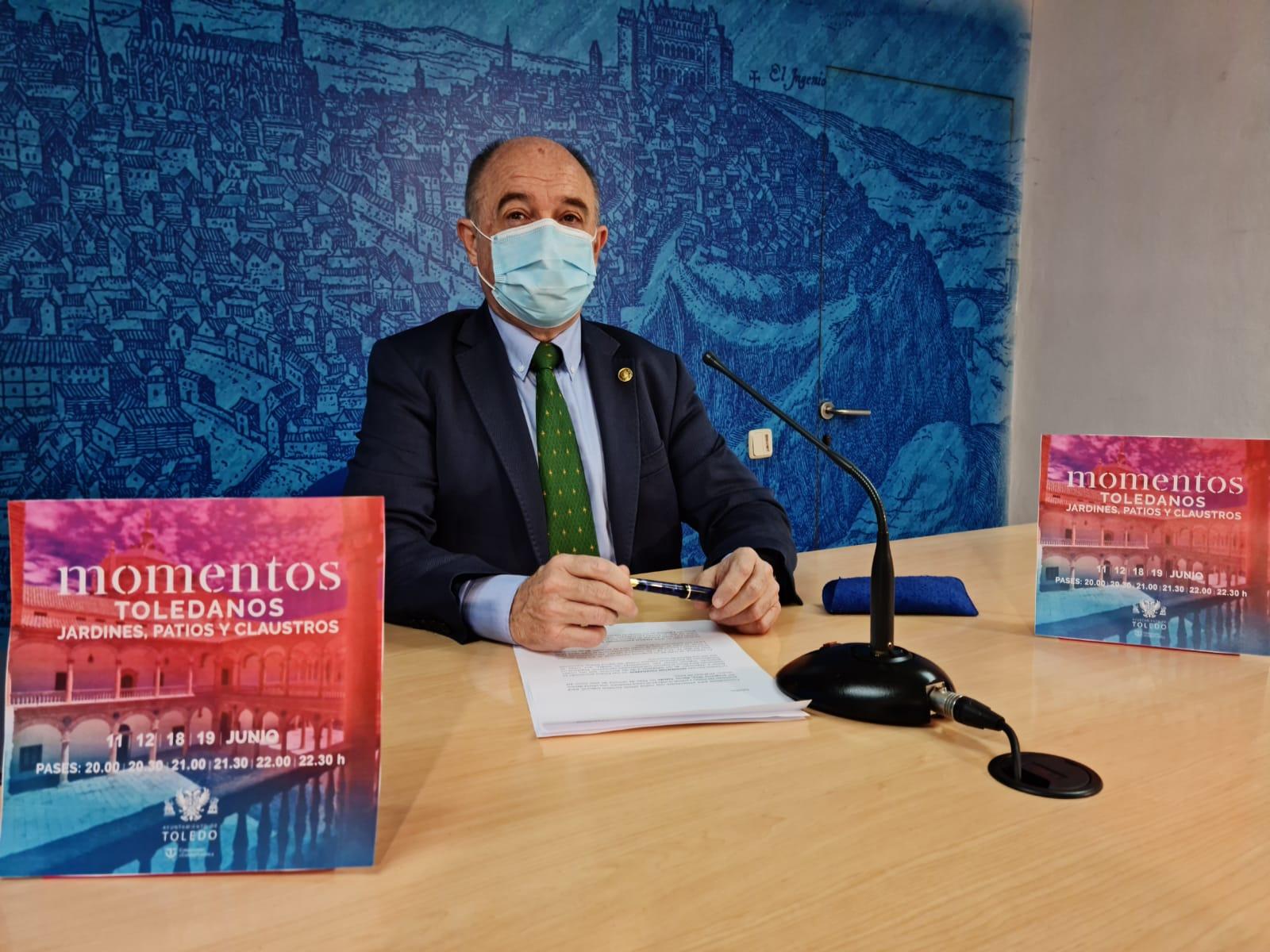 El Ayuntamiento da un paso más en la reactivación con una nueva iniciativa patrimonial y turística, 'Momentos Toledanos'