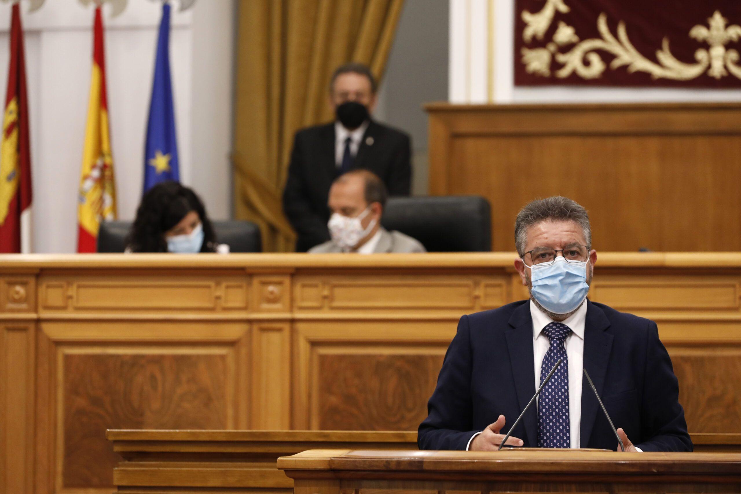 """Moreno acusa al Gobierno de Page de mentir y jugar con la salud de los castellano-manchegos: """"Es falso que ya se pueda pedir cita presencial con el médico"""""""