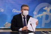 Moreno califica de `deleznable´ que la portavoz del Gobierno de Page salga a mentir a todos los castellano-manchegos con el porcentaje de vacunación