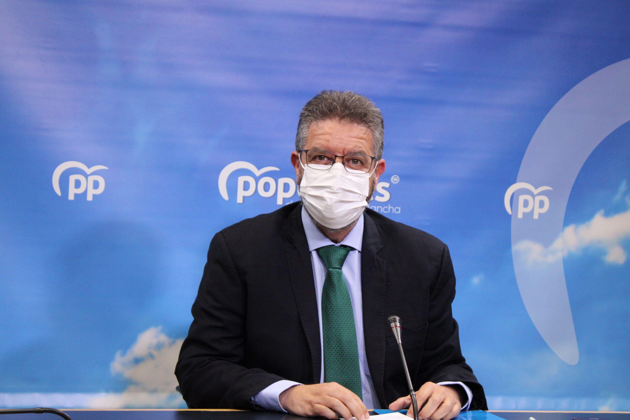"""Moreno señala que Page ha sacado a relucir su verdadera cara: """"Ha sido el peor gestor político en materia sanitaria de toda España por su incapacidad, su arrogancia y sus continuas faltas de respeto"""""""