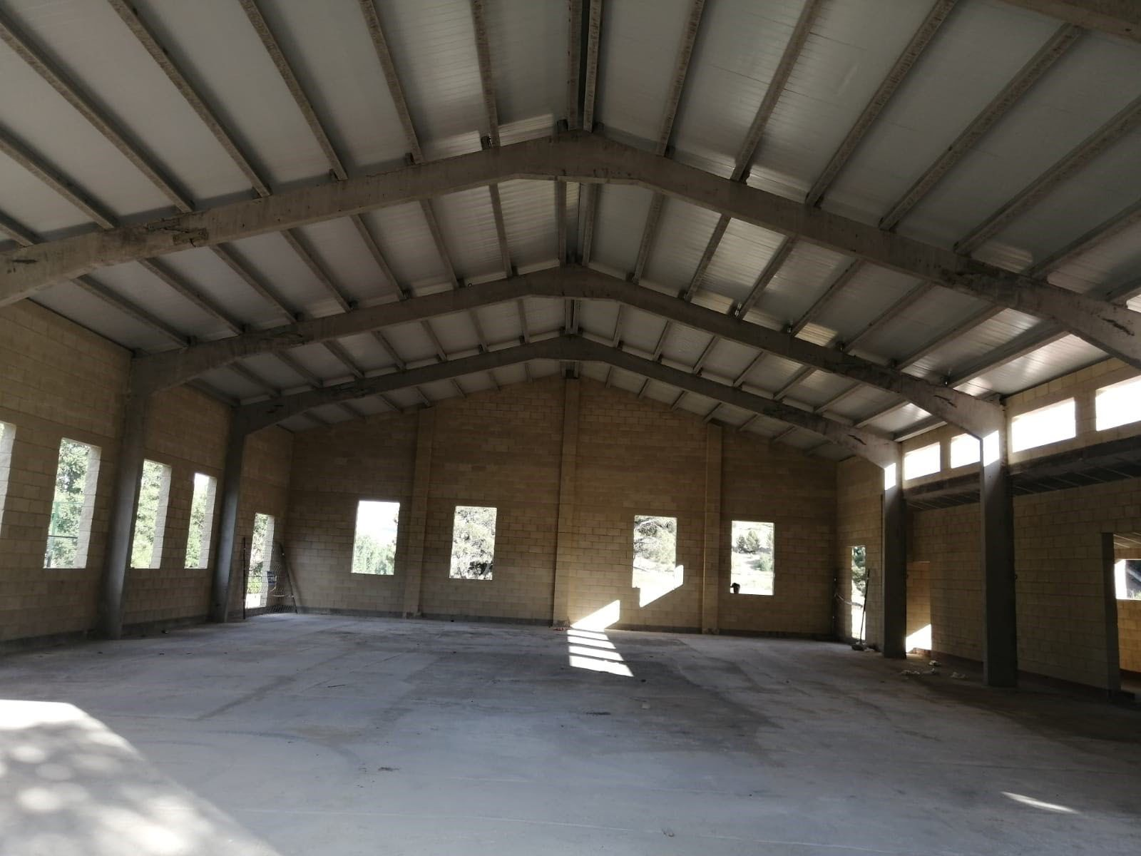 La Diputación invierte 50.000 € en el techado del nuevo pabellón deportivo de Corduente