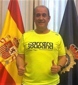 El Director General de la Policía Nacional respalda la IX 'Carrera Solidaria' de Fundación Eurocaja Rural
