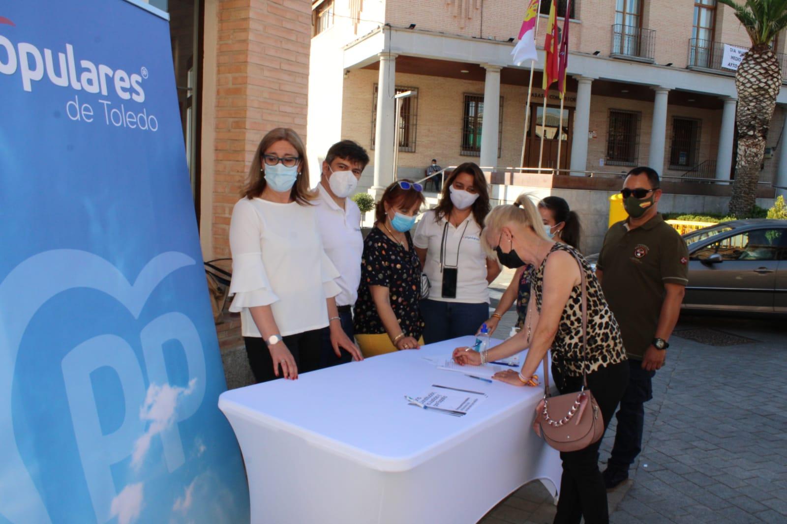 El PP de Toledo denuncia las consecuencias que va a tener en la provincia la escalada fiscal de los gobiernos del PSOE
