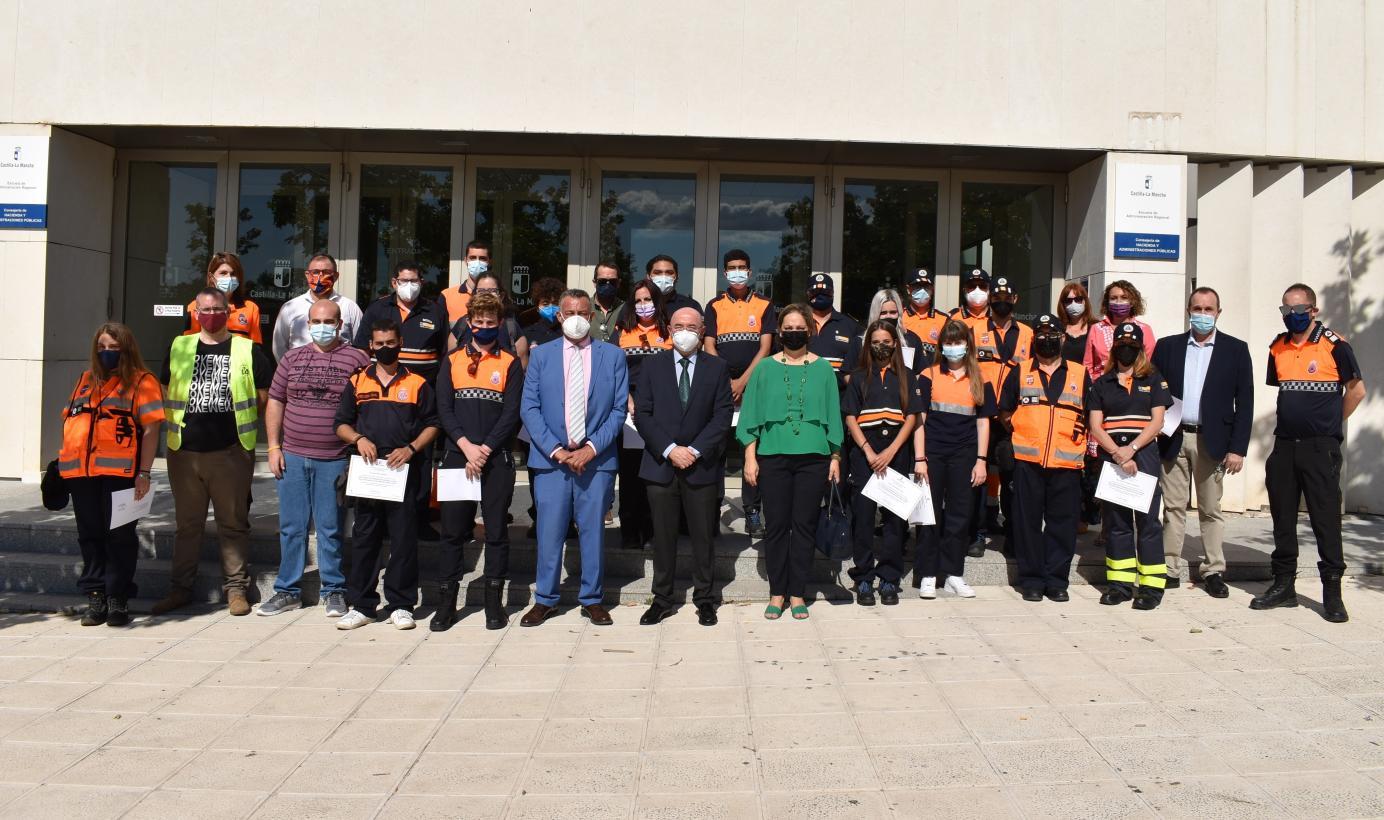 El Gobierno regional ofertará este año 67 cursos de formación a integrantes de Protección Civil, con más de 1.700 plazas