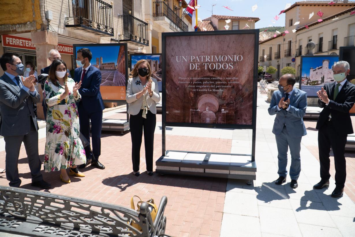 Una decena de localidades de Castilla-La Mancha acogerán la exposición itinerante sobre el patrimonio cultural de la región