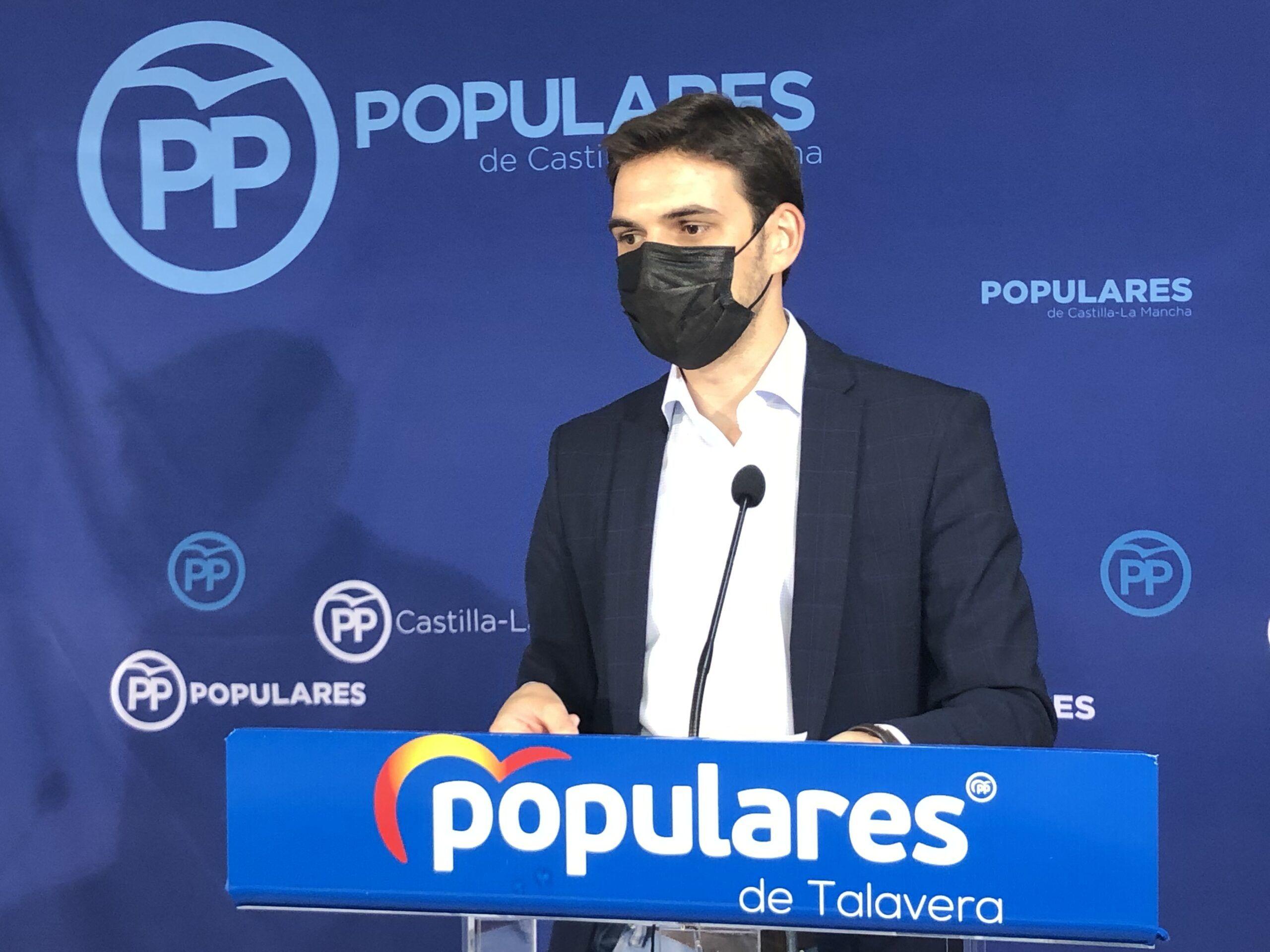 """Serrano: """"Han sido dos años perdidos para Talavera, con más paro e impuestos y sin proyecto de ciudad"""""""